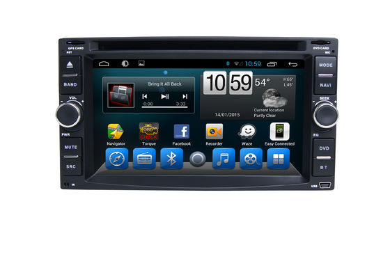 6.2 Inch DVD Car stereo Universal Car Multimedia Navgation System with Bluetooth