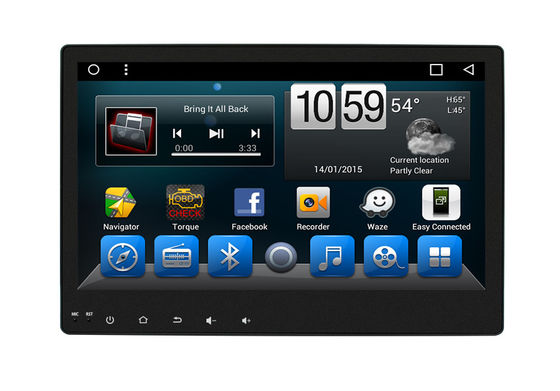 Hilux Android Toyota Navigation System All In One 10 Inch Touch Screen