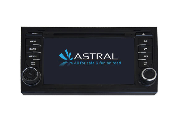 China RDS Central Multimidia GPS AUDI A4 DVD Player Hebrew Navigation System with Steering Wheel Control factory