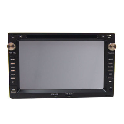 China 800p × 480p Wheel Control VOLKSWAGEN DVD Player / GPS Navigation System TV BT SWC factory