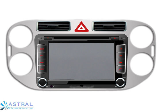 China 2Din VW GPS Navigation System Tiguan 2013 Auto Radio with DVD Player factory