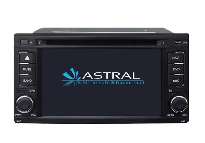 Android 6.0 System Double Din Car Dvd Player Subaru Impreza / Forester 2008 2010