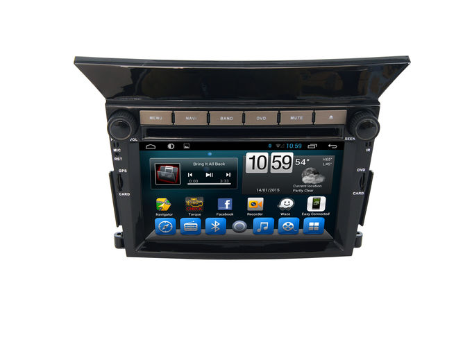 In Dash CD Dvd Player Pilot HONDA Navigation System Android Plug and Play