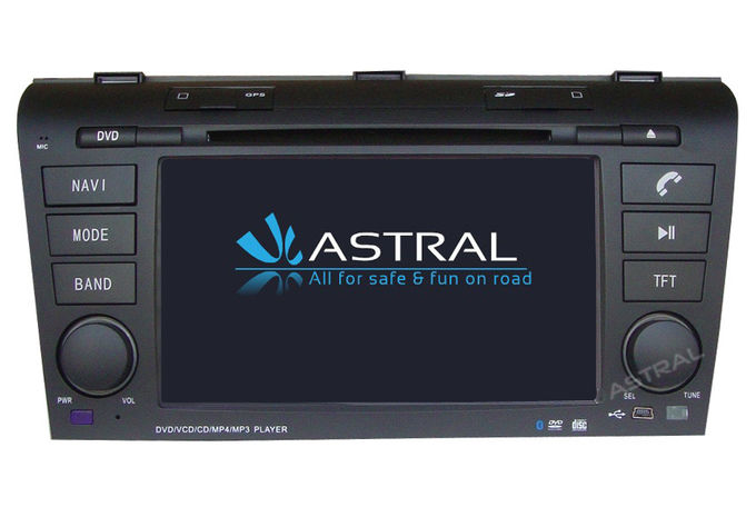 Car Origial Radio System Double Din Car Stereo Player Mazda